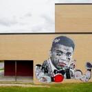 Stikki Peaches POW WOW Mural