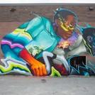 Max Sansing POW WOW Mural