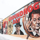 Woodstock Mural & Groundhog