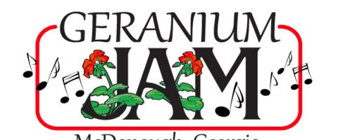 Geranium jam