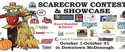 4th annual scarecrow contest   showcase